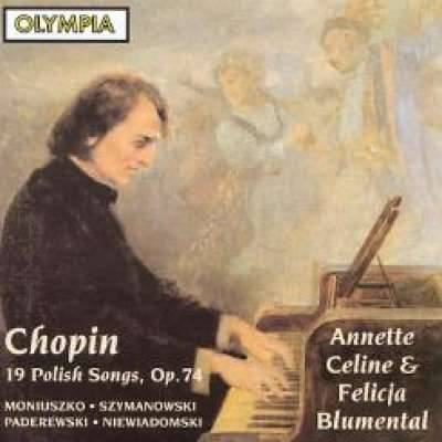 Chopin: 19 Polish Songs Op 74