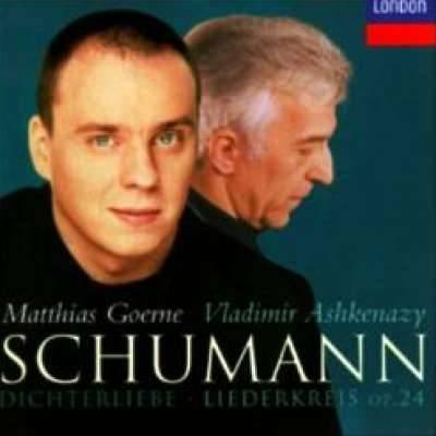 Schumann: Dichterliebe; Liederkreis, Myrthen