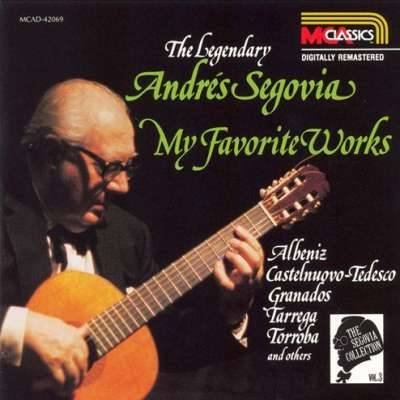 THE LEGENDARY ANDRES SEGOVIA