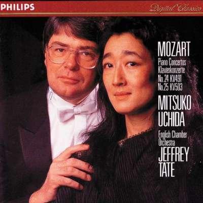 Mitsuko Uchida, English Chamber Orchestra, Jeffrey Tate – Mozart