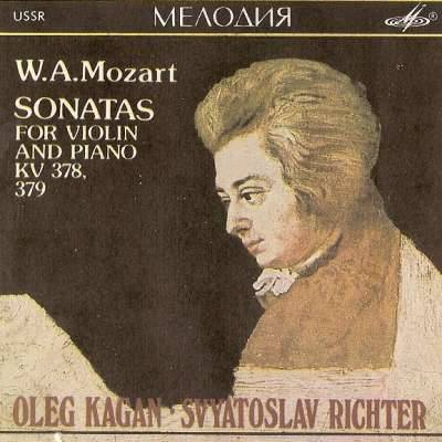 SONATAS FOR VIOLIN AND PIANO KV 378, 379
