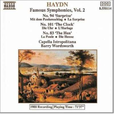 Haydn Famous Symphonies Vol 2
