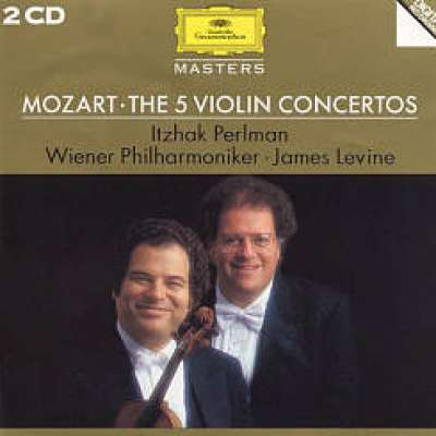 Mozart: Violin Concertos No 3 and 5 Itzhak Perlman, James Levine