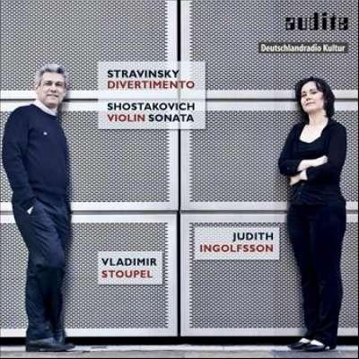 Works Violin Piano Igor Stravinsky Judith Ingolfsson Vladimir Stoupel