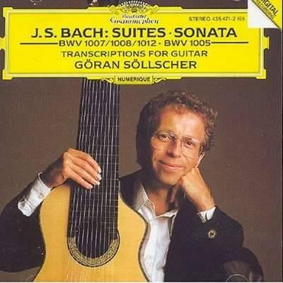 Bach: Cello Suites (Transcriptions for Guitar) Sollcher