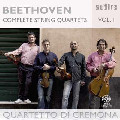 Beethoven Complete String Quartets Volume 1 Quartetto Di Cremona