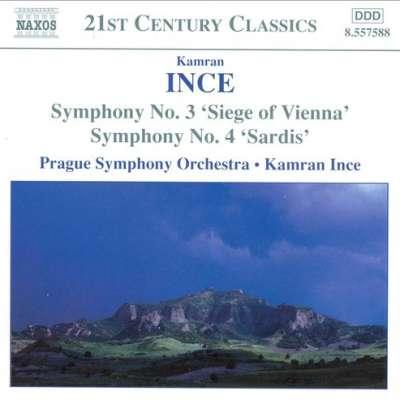 Ince: Symphony No. 3 Siege of Vienna: Symphony No. 4 Sardis