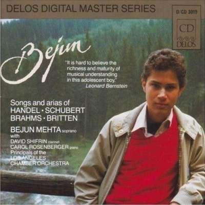 Bejun Mehta Handel Schubert Britten
