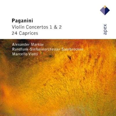 Paganini Violin Concertos 24 Capricci, Markov, Marcello Viotti