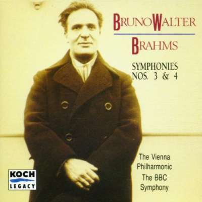 Brahms Symphonies 3 and 4
