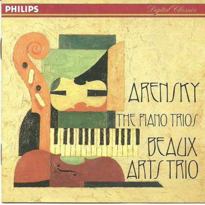 Arensky The Piano Trios