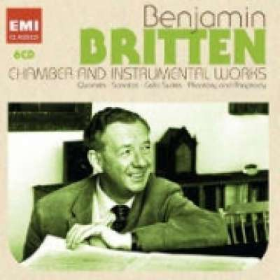 BRITTEN CHAMBER AND INSTRUMENTAL WORKS