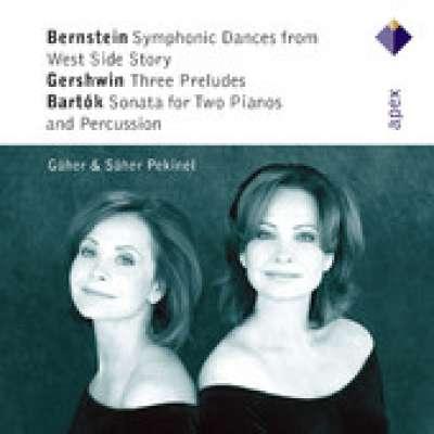 Bernstein: Symphonic Dances - Bartók: Three Preludes - Gershwin: Sonata