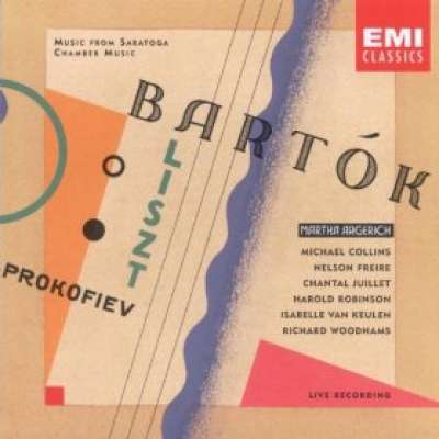 Prokofiev: Quintet, Liszt: Concerto Pathetique, Bartok: Contra