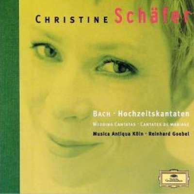 Christine Schafer Bach Cantatas