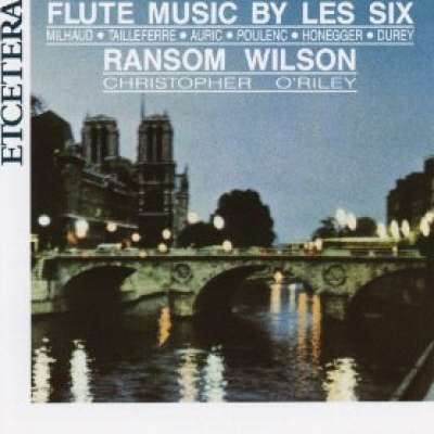 FLUTE MUSIC BY LES SIX