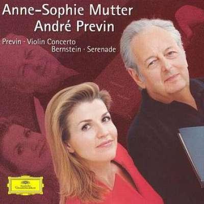 Previn: Violin Concerto - Bernstein: Serenade