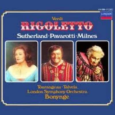 Verdi Rigoletto, LSO Bonynge