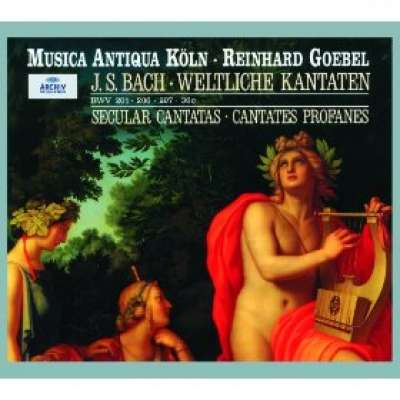Bach: Secular Cantatas, BWV 36c, 201, 206, 207, Quodlibet, BWV 524