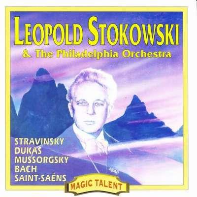 Stravinsky, Dukas, Mussorgsky, Bach, Saint Saens