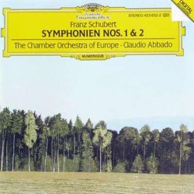 Schubert Symphonies No.1, 2