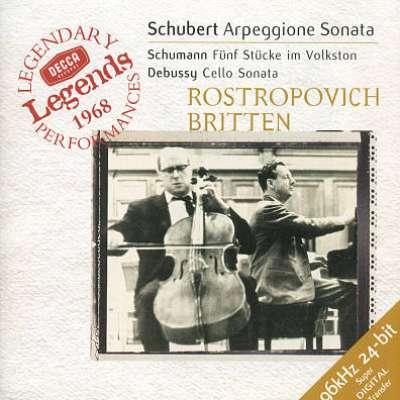 Schubert Arpeggione, Schumann Debussy
