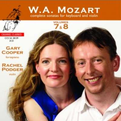 Mozart, Complete Sonatas for Keyboard and Violin