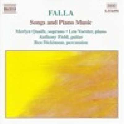 Falla: Songs and Piano Music, Len Vorster