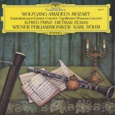 Mozart: Concertos for Clarinet, Flute and Bassoon, Karl Böhm, Vienna Philharmonic Orchestra