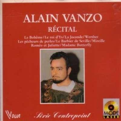 Recital Alain Vanzo