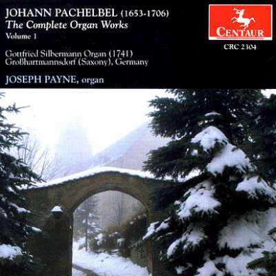 Pachelbel: Organ Works, Vol.1