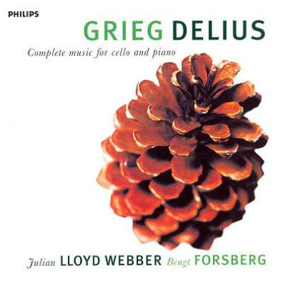 Delius / Grieg: Complete Music for Cello and Piano