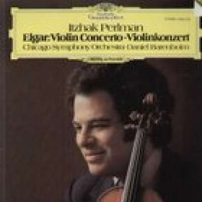Elgar: Itzhak Perlman, Chicago Symphony Orchestra, Daniel Barenboim , Violin Concerto