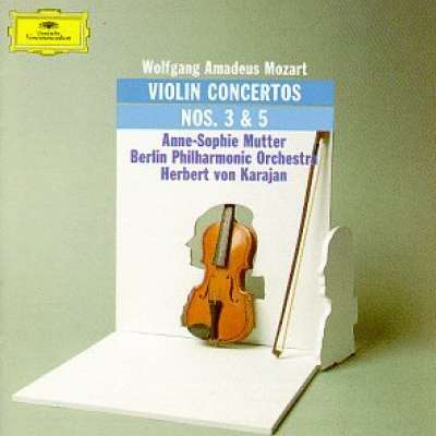 Mozart: Violin Concertos Nos.3 and 5