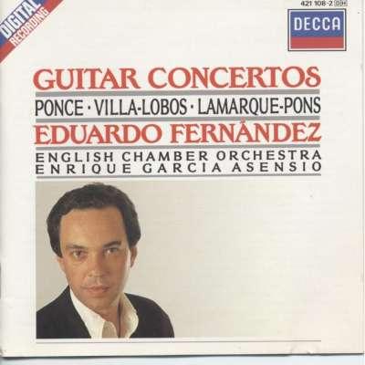 Guitar Concertos Ponce, Villa-Lobos, Lamarque-Pons