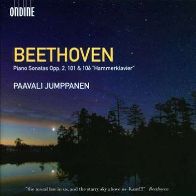 BEETHOVEN: PIANO SONATAS, OP. 2, 101 AND 106 HAMMERKLAVIER