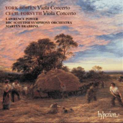 Bowen and Forsyth: Viola Concertos