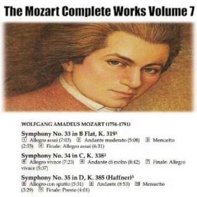 The Mozart Complete Works Volume 7