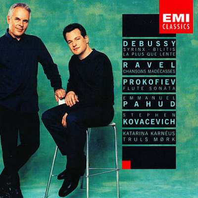Emmanuel Pahud and Stephen Kovacevich Play Debussy, Prokofiev, Ravel