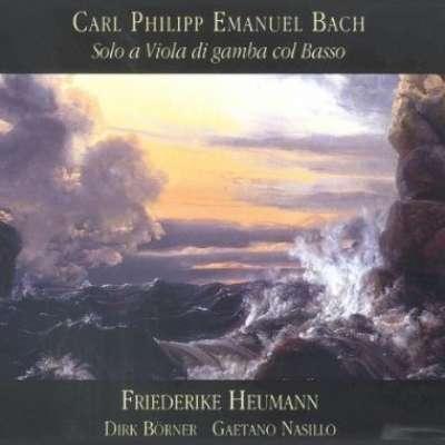 Carl Philipp Emanuel Bach: Solo a Viola di Gamba Col Basso