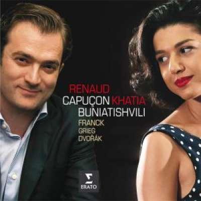 Renaud Capuçon - Khatia Buniatishvili, Franck, Grieg, Dvorak
