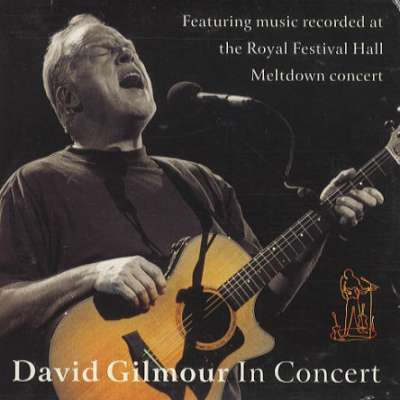 David Gilmour In Concert - Dvd