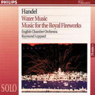 WATER MUSIC SUITE NO.1 IN F, HWV 348, AIR