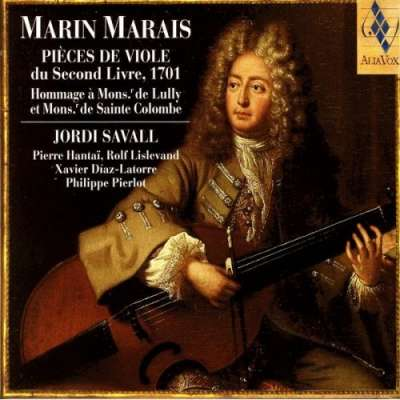 Marin Marais: Pieces De Viole Du Second Livre (1701)