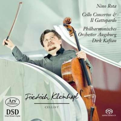 Cello Concerto No.1 - No.2 - Dances From ''Il Gattopardo''
