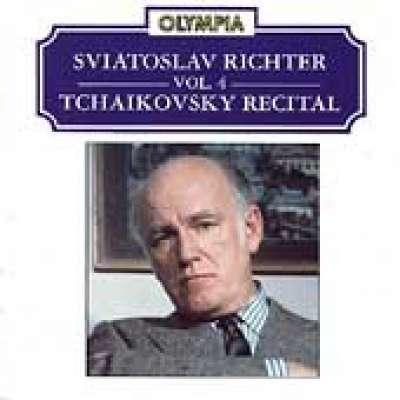 SVIATOSLAV RICHTER, VOL.4 - TCHAIKOVSKY RECITAL