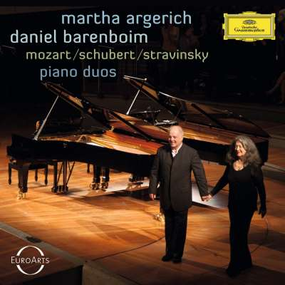 Mozart, Schubert, Stravinsky, Piano Duos, Martha Argerich, Daniel Barenboim