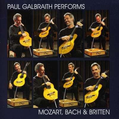 Paul Galbraith performs Mozart, Bach, Britten