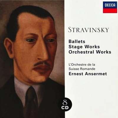 Stravinsky, Ballets, Stage Works, Orchestral Works
