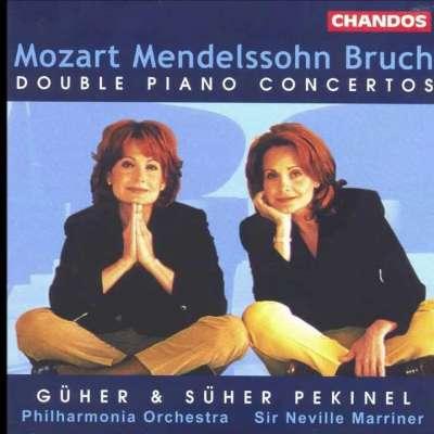 Mozart Mendelssohn Bruch Double Piano Concertos